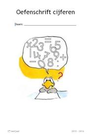 Voorblad cijferschrift