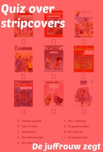 Quiz strips cover titel