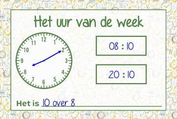 uur-van-de-week-voorbeeld