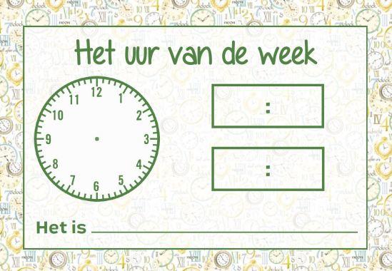 uur-van-de-week